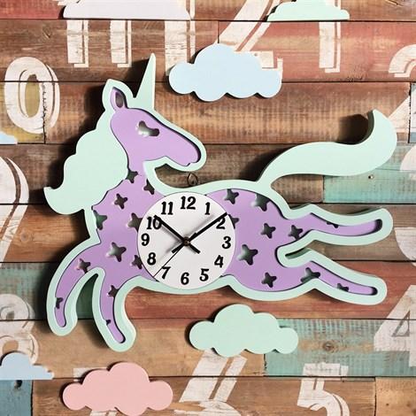 """Часы """"Единорожек"""" - фото 5151"""