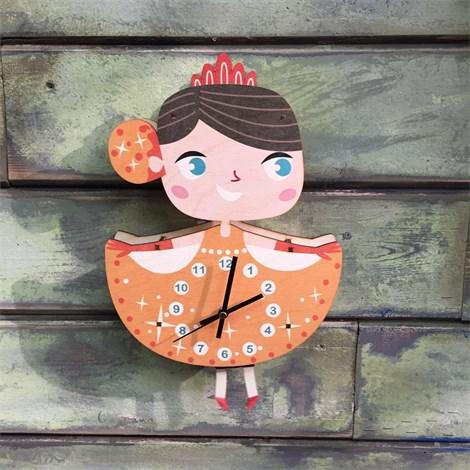 Часы-маятник Принцесса Белль - фото 5832