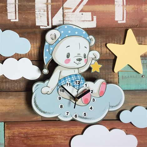 Часики Мишка - фото 6641