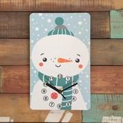 Часики Снеговик
