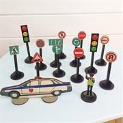 Комплект дорожных знаков