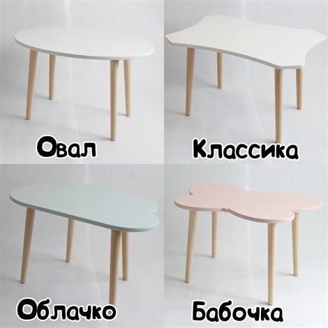 Комплект Стол + мягкий стульчик - фото 8417