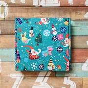 Подарочная коробка зимняя